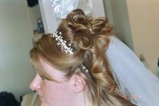 bride practice updo