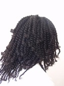 two strand twists with long hair no curl