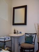 Esthetics sitting area
