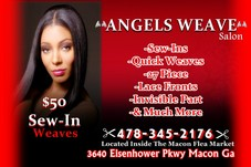 #25711 ANGELS WEAVE SALON's Appointment Photo taken in Angels Weave Salon, Macon