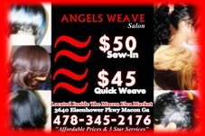 #25710 ANGELS WEAVE SALON's Appointment Photo taken in Angels Weave Salon, Macon