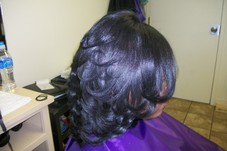 Cut/Style on relaxed hair