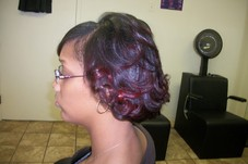 #36757 LaToyia Cooper's Appointment Photo taken in Level 7 Salon & Spa, Tulsa