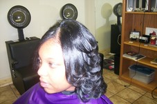 #36754 LaToyia Cooper's Appointment Photo taken in Level 7 Salon & Spa, Tulsa
