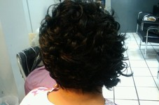 #37767 All hair by Kina Weave Specialist's Appointment Photo taken in LondonBailey Studio, Washington