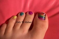 Rainbow Zebra =)