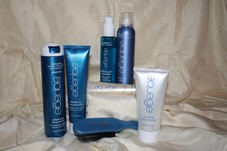 Products used in salon and for home maintenance
