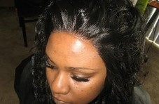 Lace front application