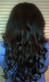 18 inches weft extensions 