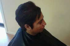 #102138 Hair by Yarie@'s Appointment Photo taken in Sheeke Salon & Spa, Leominster