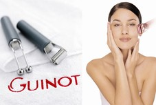 The Hydradermie is a unique facial treatment offered by Guinot. Your skin will recover a new, radiant beauty from the prescribed products penetrating deeply into the skin. The delicate galvanic currents massaging the face. In just over one hour your skin will look smooth, rested and glowing.