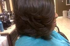 SILK PRESS TO NATURAL HAIR
