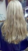 model #4- full wavy textured hair