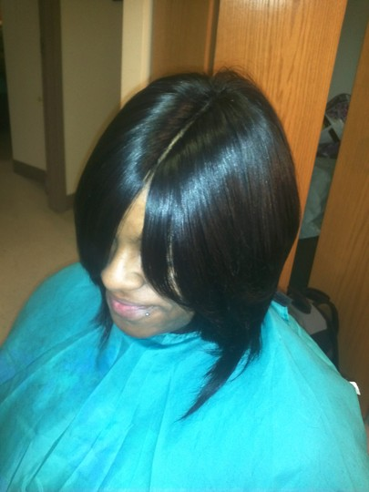 Invisible Part Quick Weave Bob