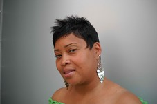 Client:  ms. Tammie sporting  one of my signiture cuts..