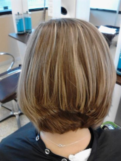 Graduated Bob Back View Pictures to pin on Pinterest
