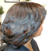 #208313 Yvette Cheree's Appointment Photo taken in The Hair Lab, Culver City