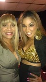 on the set of Reality Show Pop Off w Cherelle