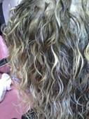 Deva Curl cut for curly hair!