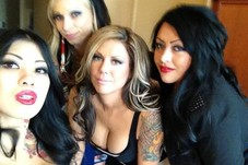 MAKEUP/ HAIR  ( TATTOO WIVES REALITY SHOW