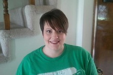Jessi with her new sassy short cut!