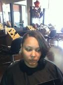 #290308 Yashika Thompson's Appointment Photo taken in Pretty Klassy Hair and Lash Studio, Homewood