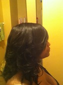 #290312 Yashika Thompson's Appointment Photo taken in Pretty Klassy Hair and Lash Studio, Homewood