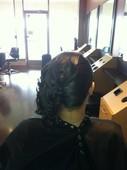 #290309 Yashika Thompson's Appointment Photo taken in Pretty Klassy Hair and Lash Studio, Homewood