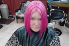 Vibrant pink..