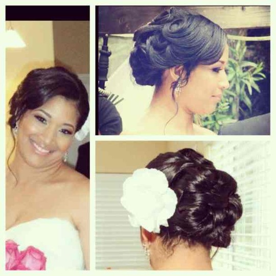 Hairstyle For Wedding Front View: StyleSeat Photos
