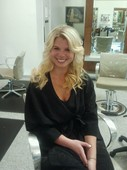 After a full extension application, length and volume!