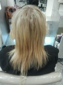 Before Great Lengths Hair Extensions