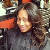 Natural sew-in with virgin indian hair - in stock
