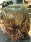 #349014 Tiffanie's Appointment Photo taken in 7 Hair  Salon, Phila