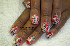 #351494 Tiffany Jones's Appointment Photo taken in Naillusions Nail Salon, Cleveland