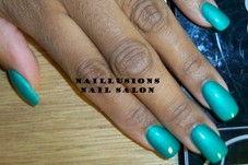 #351499 Tiffany Jones's Appointment Photo taken in Naillusions Nail Salon, Cleveland