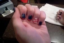 Baseball nails!!!!!