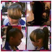 Basic Ponytail with a side bang