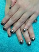 Brittainy's glitter nails