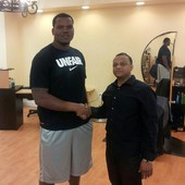 Ramone Harwood #70 Baltimore Ravens
