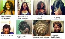 #394840 Nikki Blaze's Appointment Photo taken in uNIQUEly YOU (@ Cuts of Diamond Full Salon & Barber Shop, Smyrna