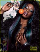 Dazed & Confused Magazine  Interscope Recording Artist Azealia Banks  Full Head Weave w/ NO Hair Out  Custom Color