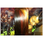 WEAVE with parting out & custom color