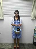 """Ysenia S as """"dead"""" Dorothy Halloween 2012"""