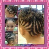 Children Natural Braid Style