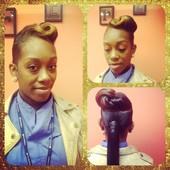 #497728 Satarra Parker's Appointment Photo taken in The Beauty Lounge, Philadelphia