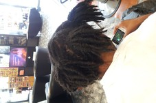 Dread Locs Twist Touch Up Palm Rolled Technique Starting at $45