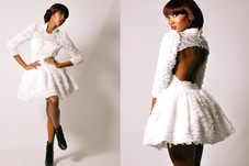 photo shoot with p ans coming model Noelle B