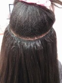 Partial Sew-In Braiding Pattern