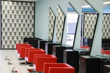 Pics of the salon located at 12579 Westheimer Rd. Houston, TX 77077